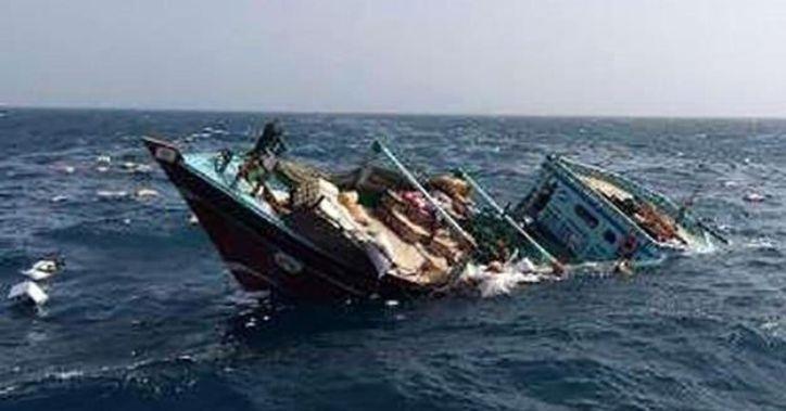"""انتقال نجاتیافتگان حادثه شناور """"بهبهان"""" به بصره"""