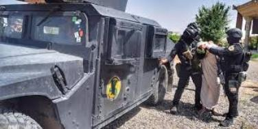 انهدام یک باند داعشی آماده عملیات در عراق