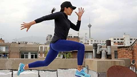 رکورددار دوی سرعت زنان ایران: برای شرکت در مسابقه ماشینم را فروختم