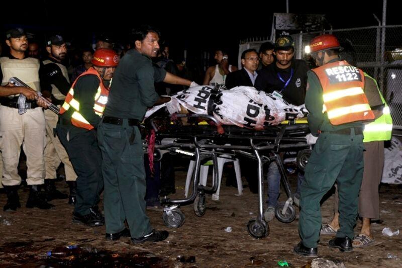 انفجار در نزدیکی مقر فرماندهی ارتش پاکستان