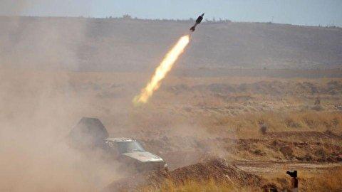 لحظات حمله به پایگاههای آمریکا در عراق