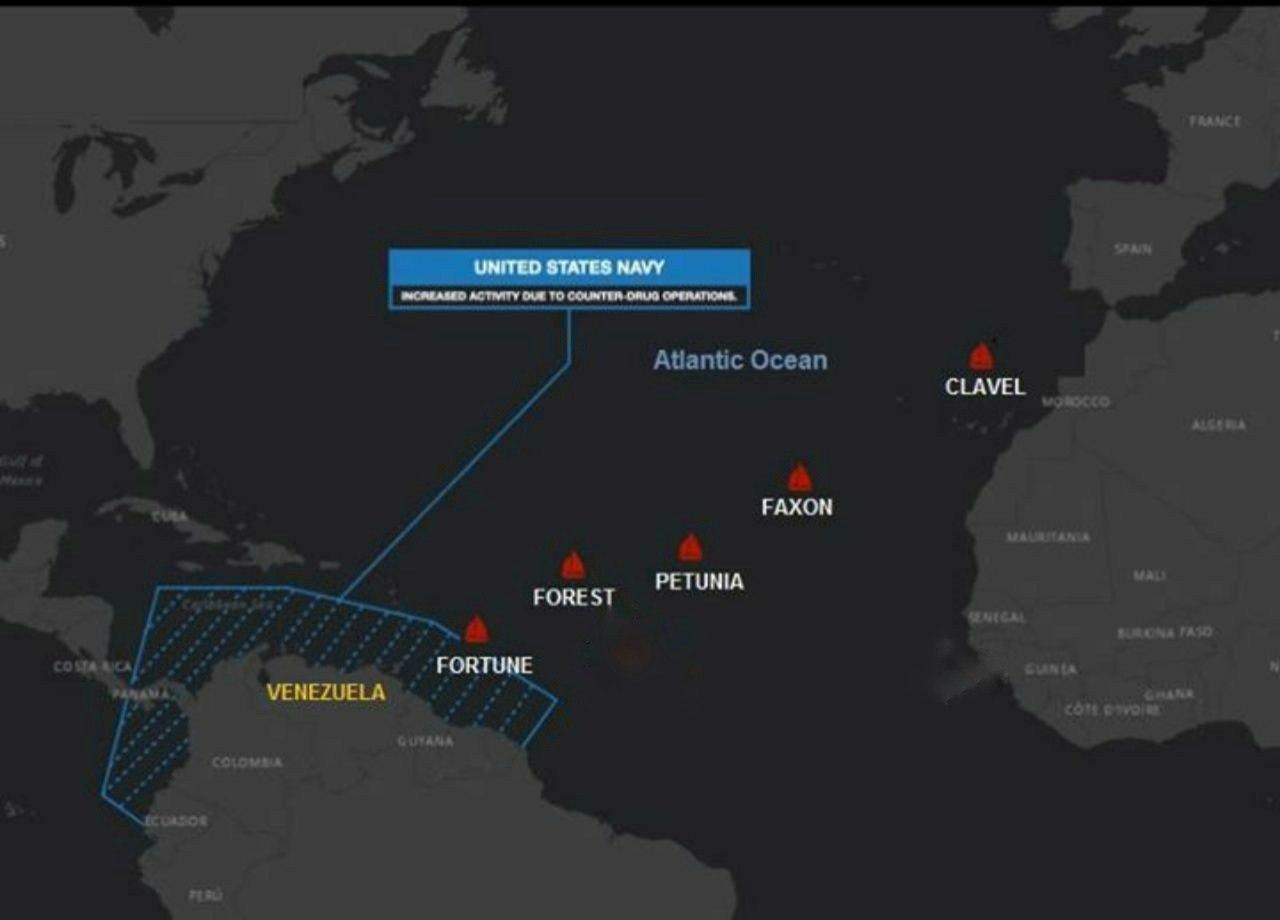 آماده باش نظامی در آستانه ورود نفتکش های ایران به سواحل ونزوئلا