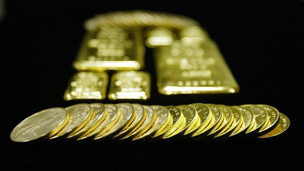 هجوم خریداران به بازار طلای آب شده