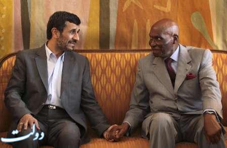 دسته گل ۹۰ میلیون دلاری که احمدینژاد در سنگال به آب داد/ احمدینژاد: ما یک کارخانه کامل تولید خودروسازی در داکار خواهیم داشت/ ساخت کارخانه در بیابان با دلارهای نفتی!