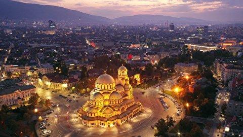 بلغارستان از فراز آسمان