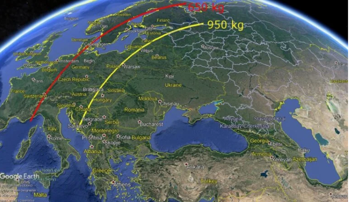 موشک های بالستیک ایران می توانند قلب اروپا را هدف قرار دهند!