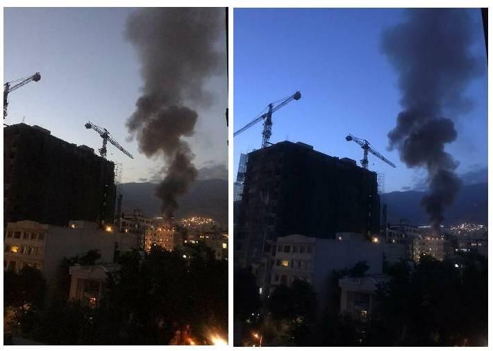 انفجار در یک کلینیک درمانی در خیابان شریعتی تهران