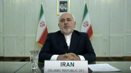 ظریف: یا باید حاکمیت قانون حفظ شود یا به قانون جنگل بازگردیم/آمریکا نه با اتهام، نه با تحریم و نه با ترور نمی تواند ایران را به زانو در آورد/در صورت تمدید تحریم تسلیحاتی ایران پاسخ قاطع خواهیم داد