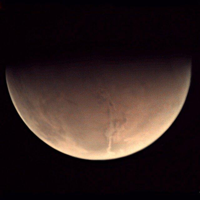 تصویر رازآلود مریخ ثبت شده توسط