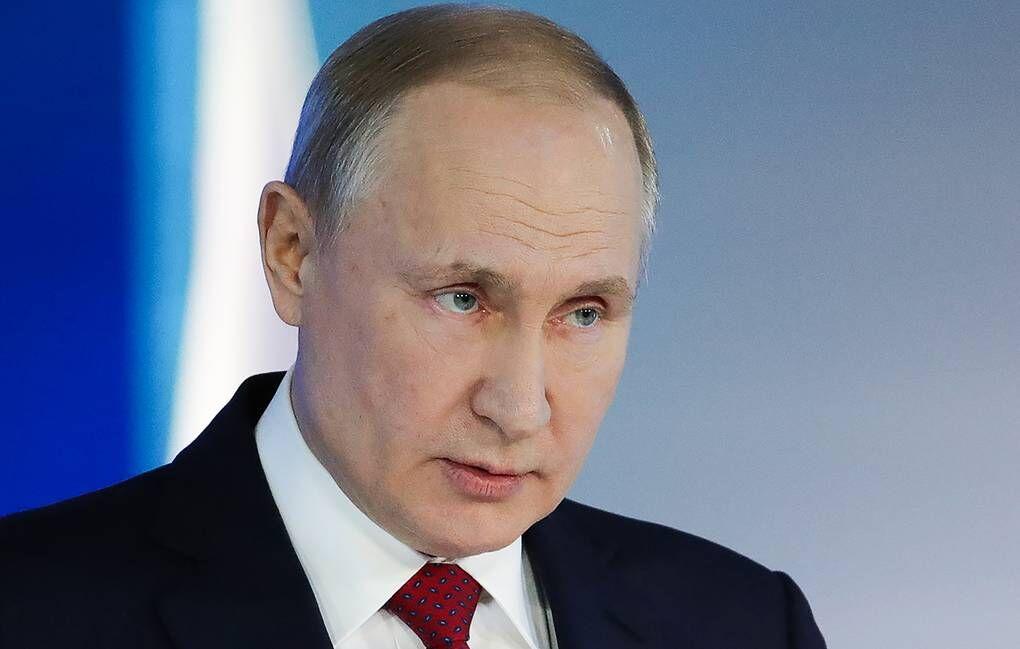 پیراهن گران قیمت پوتین در یک حراجی