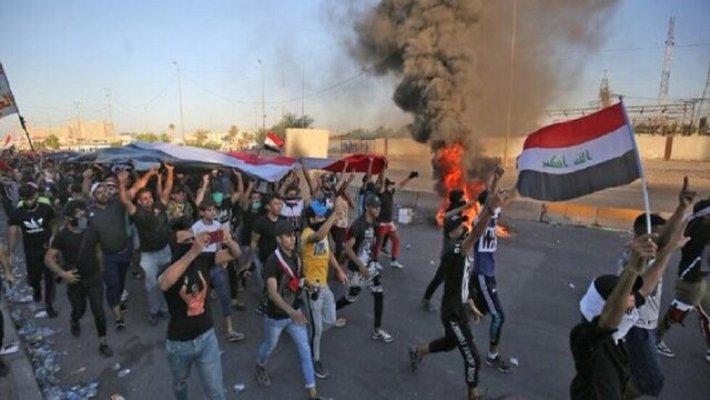 حمله عراقیها به شرکت برق در شرق بغداد