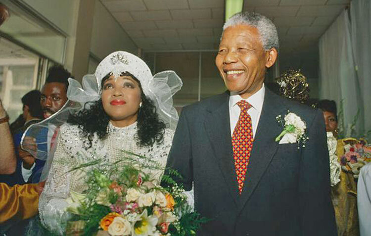 مرگ ناگهانی دختر ۵۹ ساله نلسن ماندلا