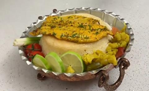 طرز تهیه ماهی زعفرانی