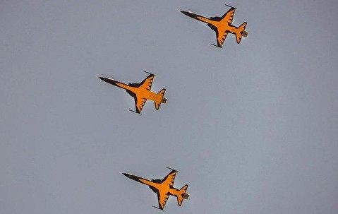 عملکرد جنگنده کوثر در آسمان