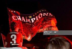 جشن خیابانی در لیورپول بعداز قهرمانی تاریخی