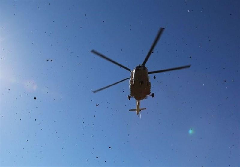 سقوط بالگرد در مرودشت تایید نشد