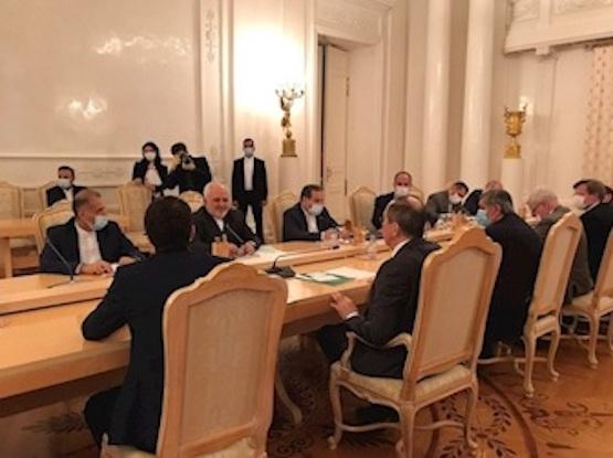 تاکید ظریف و لاوروف بر مقابله با یکجانبهگرایی آمریکا