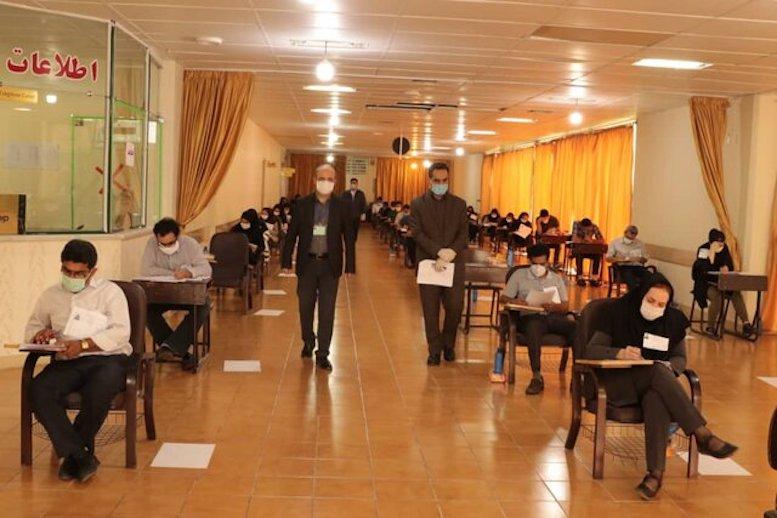 آغاز دومین روز آزمون دکتری وزارت بهداشت