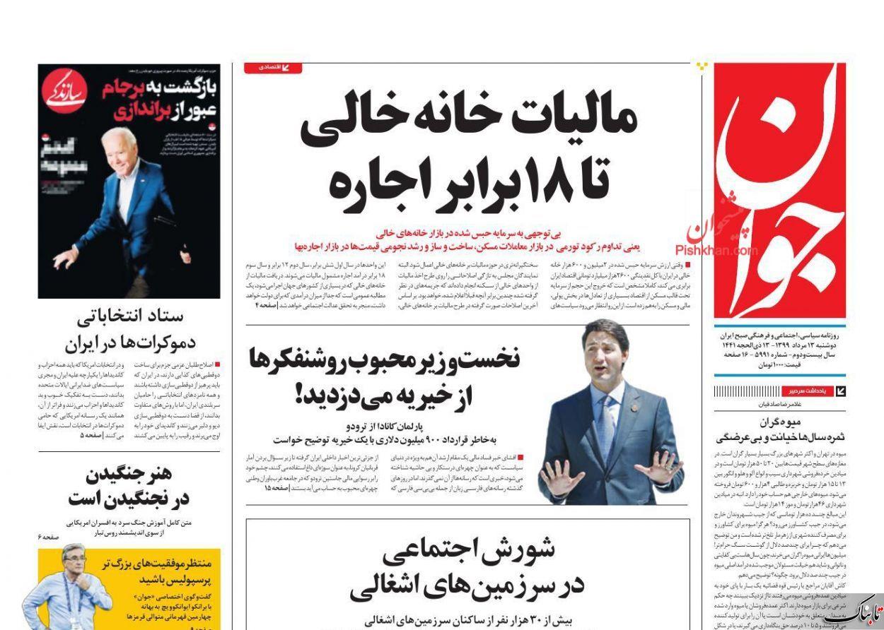 عوارض برگزار نشدن کنکور چیست؟ /آقای روحانی اول دولت را منسجم کنید/میوه گران ثمره سالها خیانت و بیعرضگی