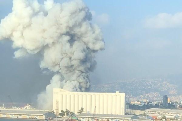 وقوع انفجار هولناک در بیروت/ کشته و زخمی شدن ده ها نفر