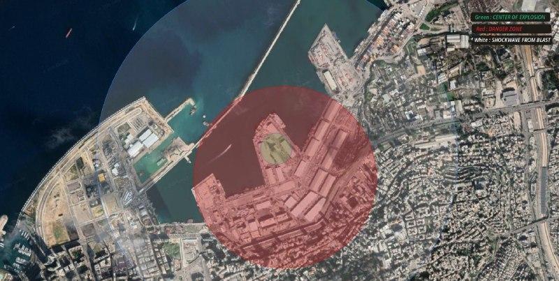 وقوع انفجار هولناک در بیروت/ کشته و زخمی شدن ده ها نفر+ فیلم
