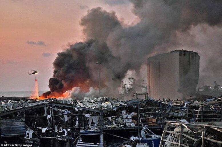 نیمی از بیروت در اثر انفجار آسیب دیده است - تابناک | TABNAK