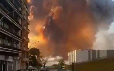 قدرت موج انفجار بیروت