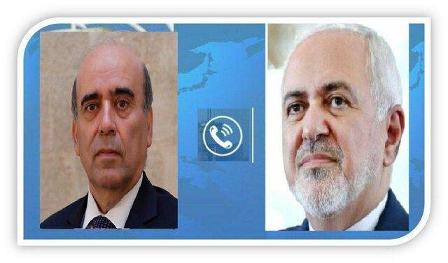 ظریف: آماده ارائه کمک به لبنان هستیم