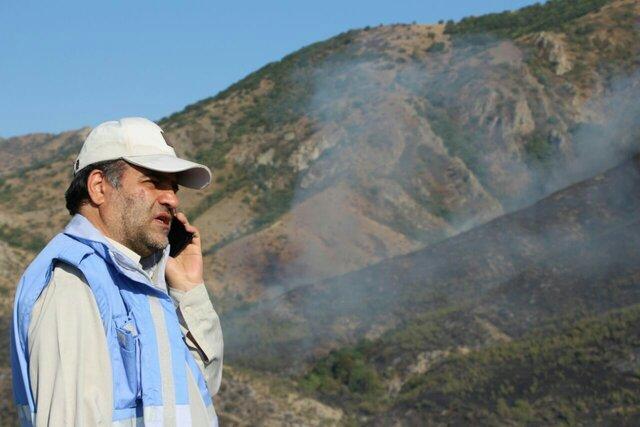 مهار ۸۰ درصدی آتشسوزی مراتع جنگلهای ارسباران