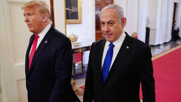 نتانیاهو: آمریکا مانع اجرای طرح الحاق شد