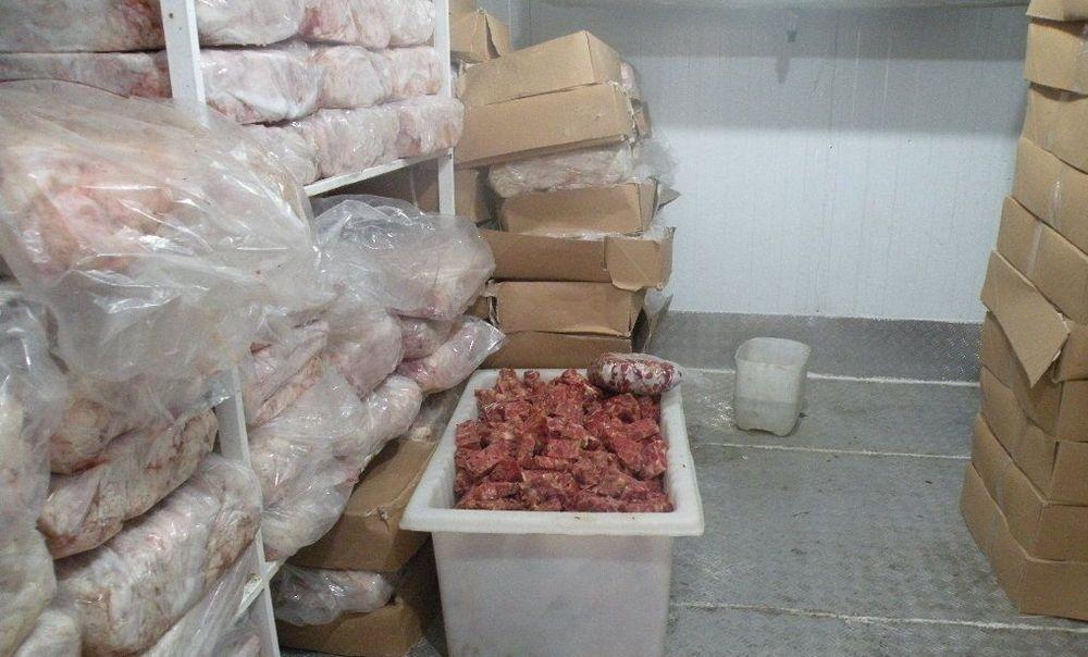 کشف ۲ تن گوشت فاسد در جنوب تهران