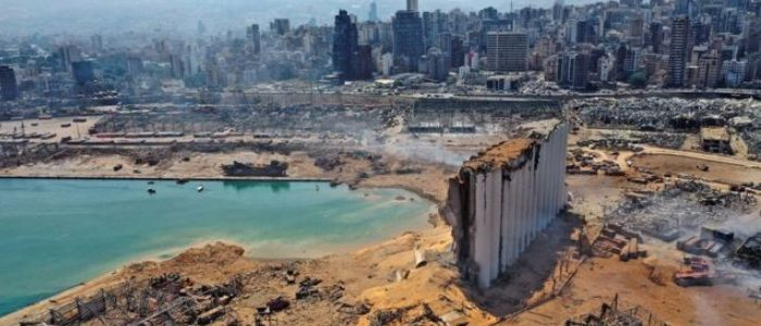 برآورد اولیه خسارات انفجار بیروت از زبان میشل عون