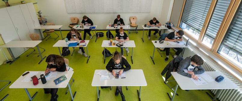 بازگشت دانش آموزان آلماني به مدارس