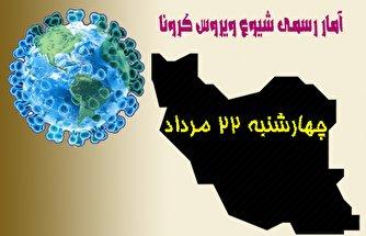 آخرین آمار کرونا تا ۲۲ مرداد/ عبور شمار بیماران کرونایی در ایران از ۳۳۳ هزار نفر