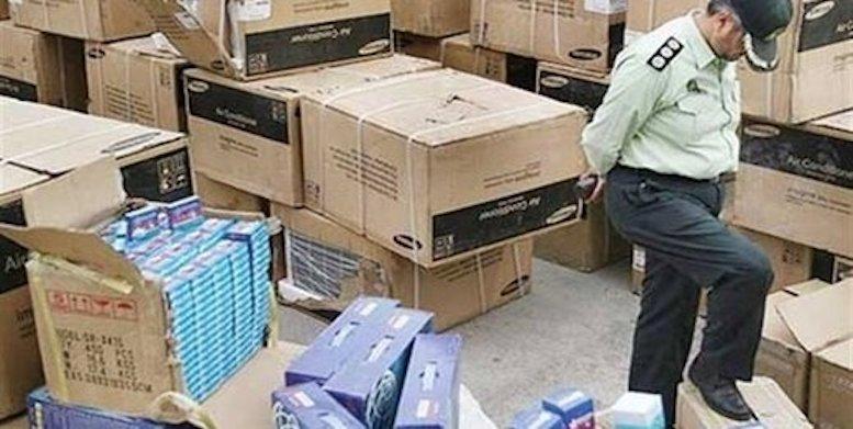انبار بزرگ لوازم خانگی قاچاق در مرکز تهران لو رفت