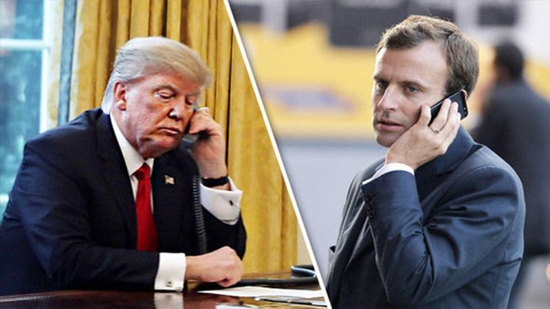 گفتوگوی تلفنی ترامپ با ماکرون درباره لبنان