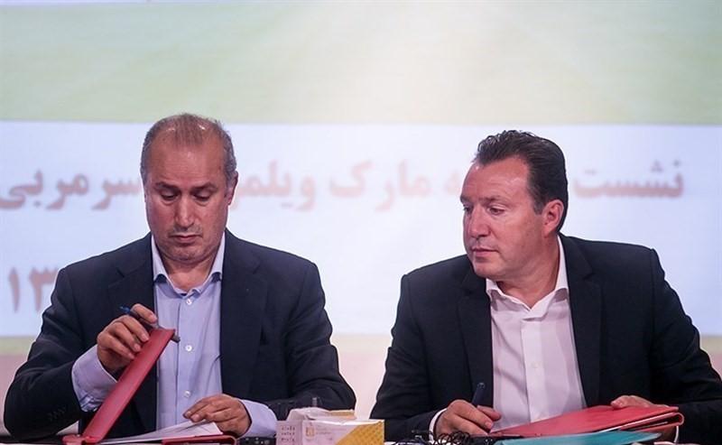 غرامت ۱۶۵ میلیارد تومانی ایران با حکم فیفا در پرونده ویلموتس / پول و نتیجه و آبرو را با امضای تاج به «مربی نجیب» باختیم!