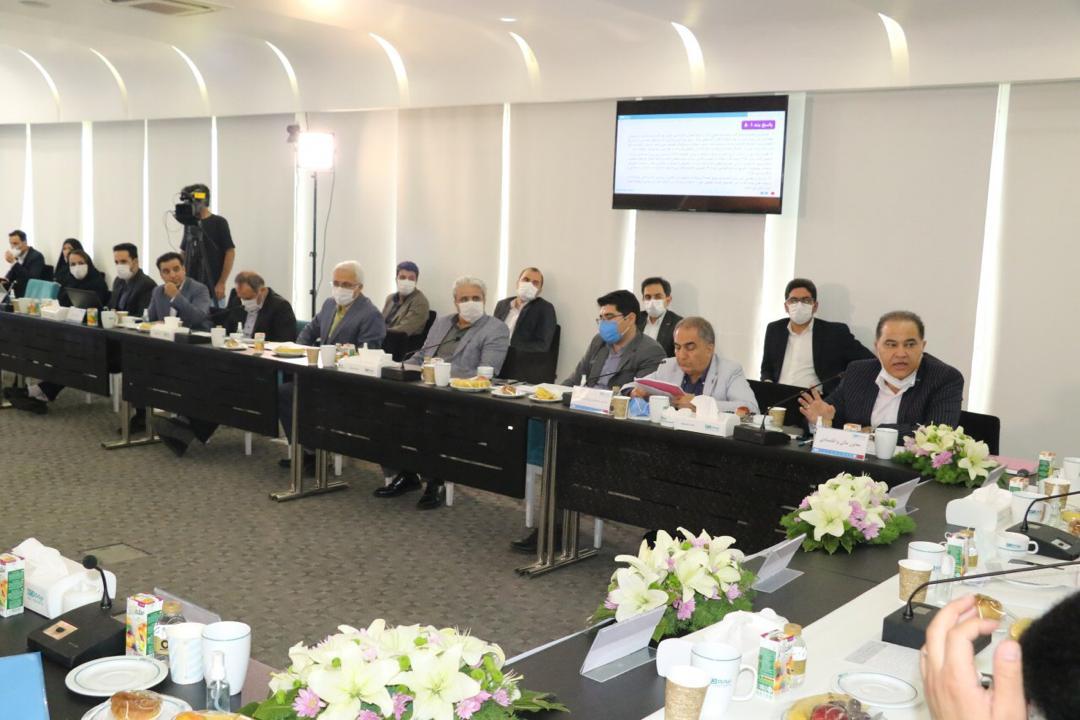 مجمع عمومی عادی سالیانه صاحبان سهام شرکت بيمه دی برگزار شد