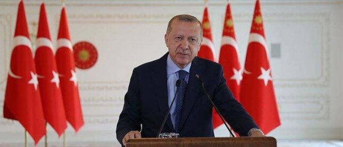 اردوغان: به خاک و منابع هیچ کشوری چشم ندوختهایم