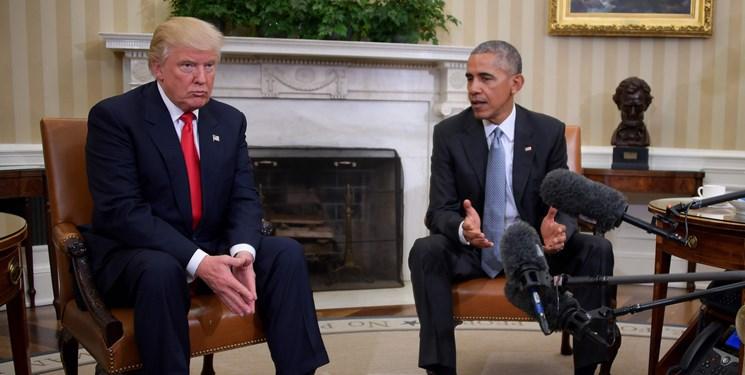 ترامپ: دولت اوباما فاسدترین دولت در تاریخ است