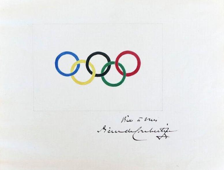 فروش نقاشی اصلی پنج حلقه المپیک