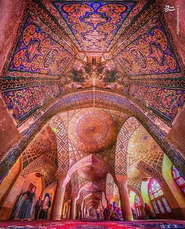 شاهکار معماری ایرانی در شیراز