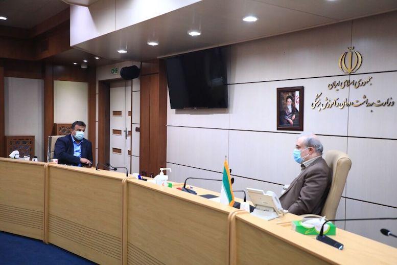 قدردانی وزیر بهداشت از اقدامات ضدکرونایی در مازندران