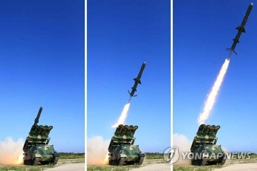 کره شمالی موشک کروز آزمایش کرد