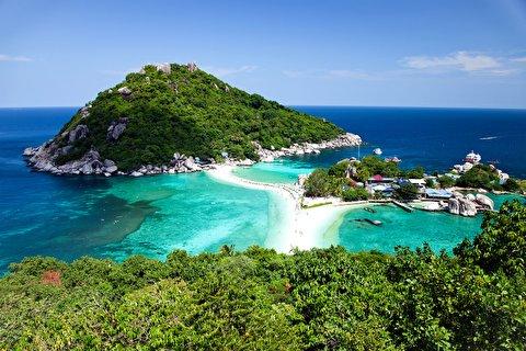 جزیره ساموی از نمای نزدیک