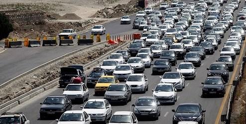 محدودیت ترافیکی پایان هفته در جادههای شمال