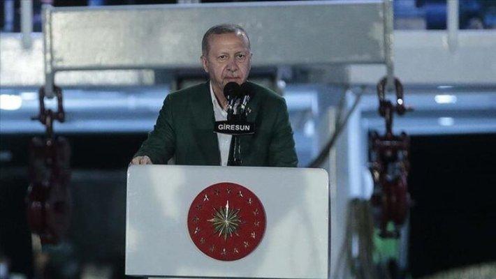 اردوغان: اجازه چپاول منابع طبیعی ترکیه را نمیدهیم