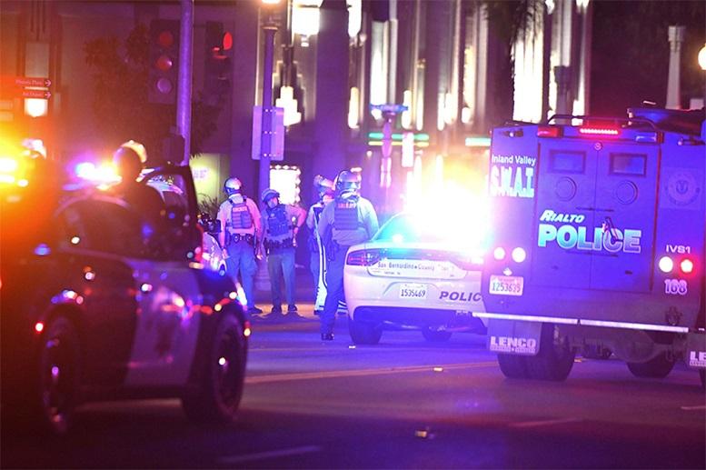 درگیری مسلحانه در کالیفرنیا آمریکا با ۷ کشته