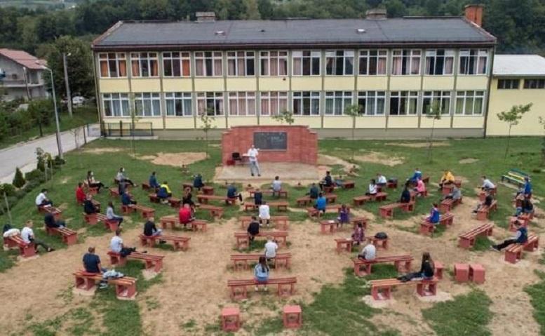 ابتکار معلمان بوسنی برای جلوگیری از ابتلای دانشآموزان