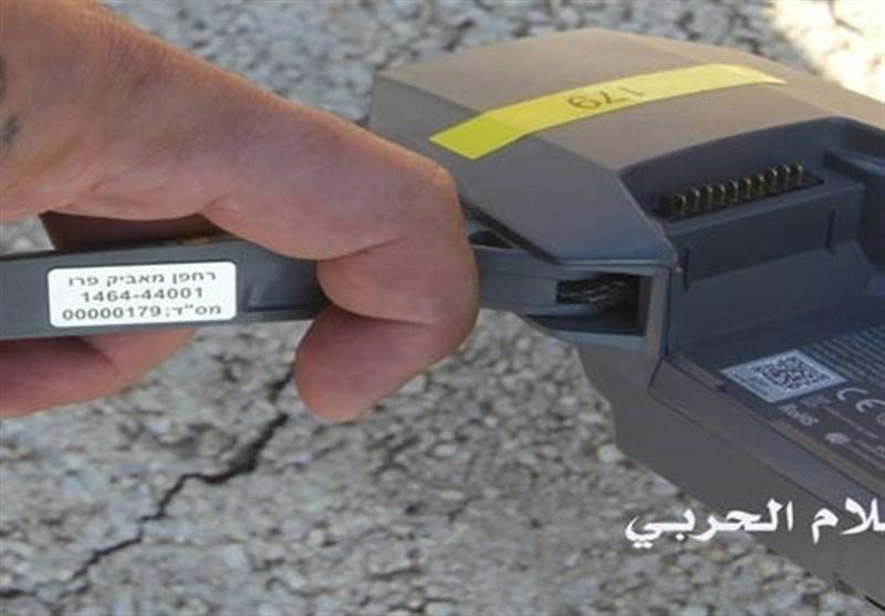 تصویر پهپاد سرنگون شده اسرائیلی توسط حزبالله لبنان